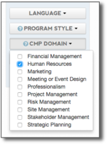 cmp checkboxes